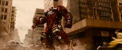 Entering Hulkbuster