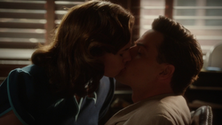 Passionate Kiss - Peggy and Daniel
