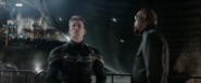 Cap and Nick Fury