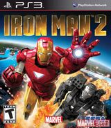 IronMan2 PS3 US cover