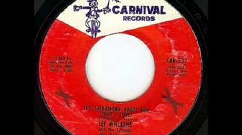 ITS EVERYTHING ABOUT YOU - LEE WILLIAMS & THE CYMBALS