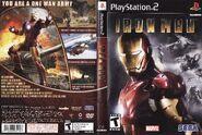Iron Man PS2 US Box