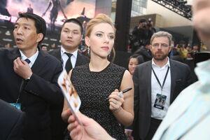 Captain America Winter Soldier Beijing Fan Event Scarlett Johansson
