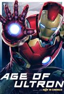 Avengers Age Of Ultron Unpublished Character Poster b JPosters