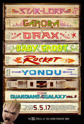 GOTG 2 Poster 2017