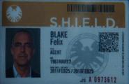 Agent Blake Card - High