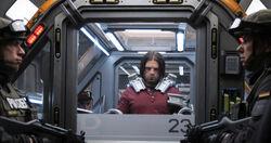 Bucky restrained Civil War