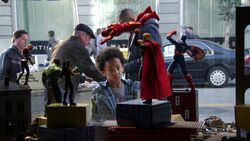 Ace peterson and the avengers toy figures