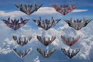M-ships Concept Art