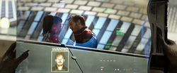 Star-Lord and Bereet on Xandar