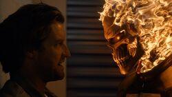 Ghost Rider vs Hellfire
