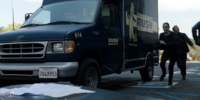 Rush Cleaning Service Truck