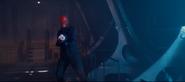 Red skull aims