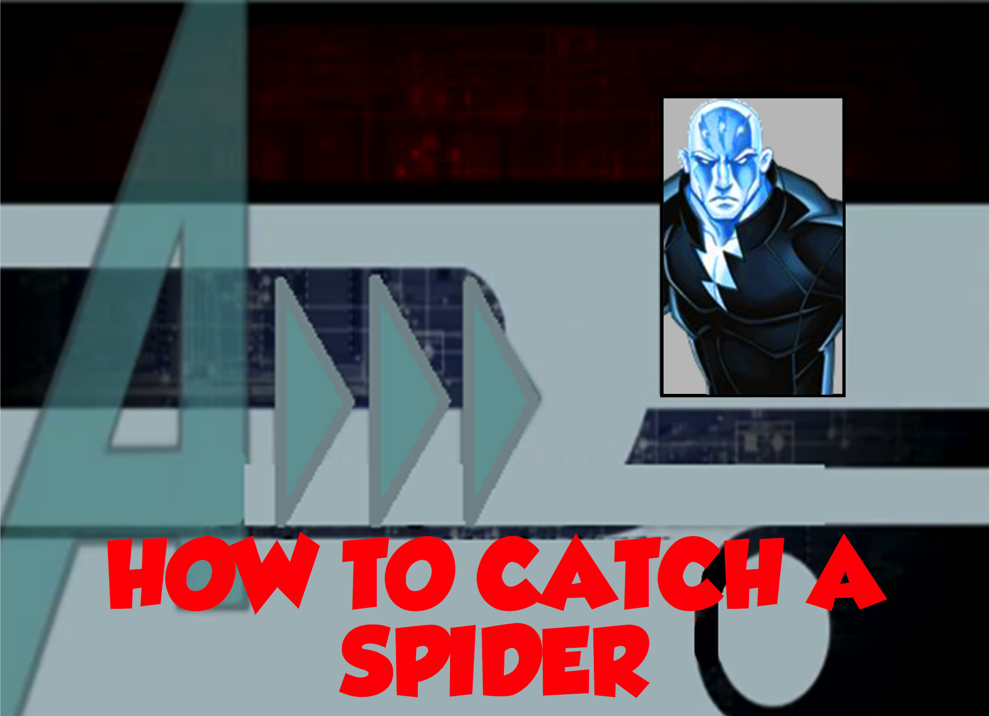 how to catch a spider