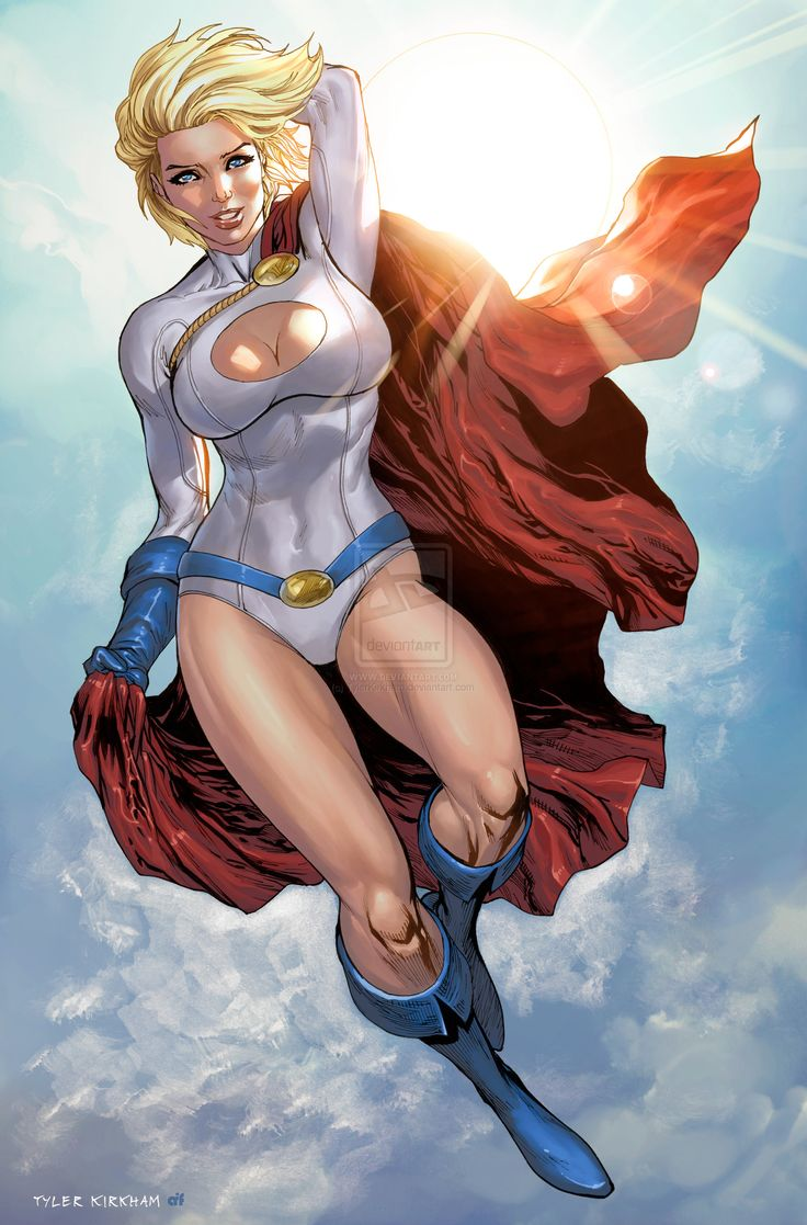 Image - Power Girl (Earth-59).jpg | Comic Crossroads | Fandom powered ...