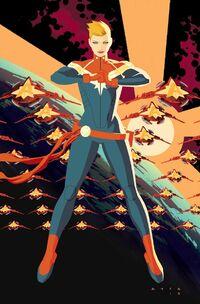 Captain Marvel Vol 9 1 Textless