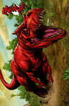 Devil Dinosaur (Earth-78411) from Skaar King of the Savage Land Vol 1 2