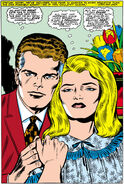 Reed and Sue worry about their unborn child from Fantastic Four Vol 1 79