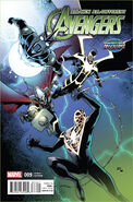 All-New, All-Different Avengers Vol 1 9 Age of Apocalypse Variant