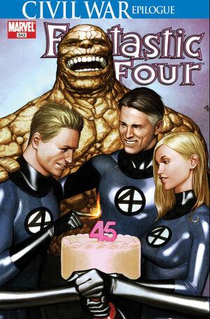 Fantastic Four Vol 1 543