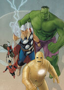 Avengers The Origin Vol 1 5 Textless