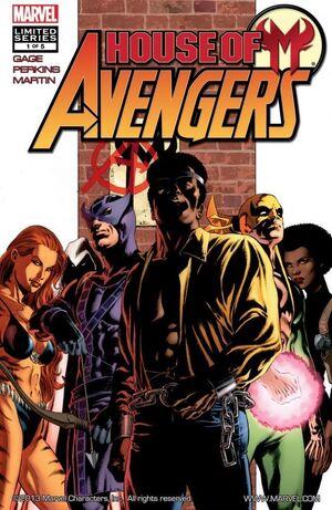 House of M Avengers Vol 1 1