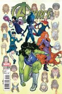 A-Force Vol 2 1 Ibanez Variant