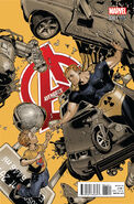 Avengers Vol 5 34.1 Bachalo Variant