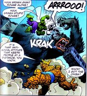 Tragg (Earth-616) from Marvel Monsters Monsters on the Prowl Vol 1 1 0002
