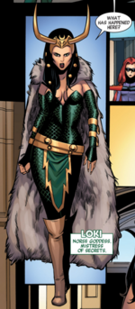 Loki Laufeyson (Earth-16191) from A-Force Vol 1 1 001