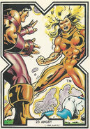 Meggan Puceanu (Earth-616) from Excalibur Trading Cards 0006