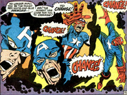 Steve Rogers (Earth-616) being transformed into the Red Skull in Captain America Vol 1 115