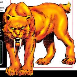 Zabu (Earth-616) from Marvel Pets Handbook Vol 1 1 0001