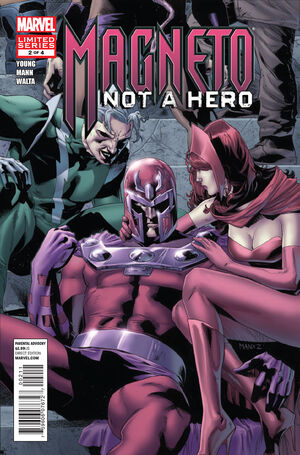 Magneto Not a Hero Vol 1 2
