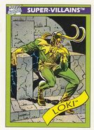 Loki Laufeyson (Earth-616) from Marvel Universe Cards Series I 0001