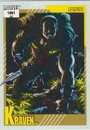Sergei Kravinoff (Earth-616) from Marvel Universe Cards Series II 0001