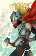 Thor Vol 4 6 Women of Marvel Variant Textless