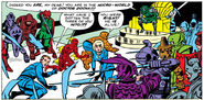 Fantastic Four in the Microverse for the First Time from Fantastic Four Vol 1 16