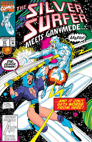 Silver Surfer Vol 3 81
