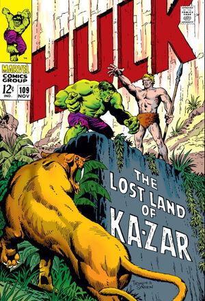Incredible Hulk Vol 1 109
