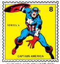Captain America Marvel Value Stamp