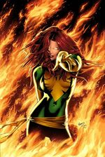 X-Men Phoenix Endsong Vol 1 1 Variant Green Textless