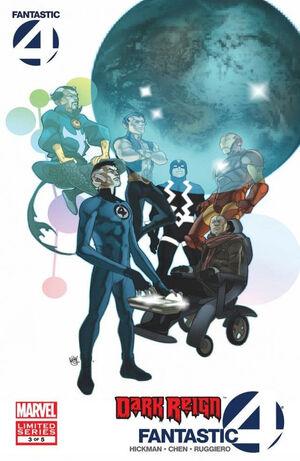 Dark Reign Fantastic Four Vol 1 3