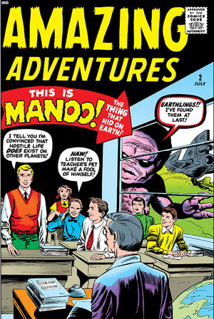 Amazing Adventures Vol 1 2