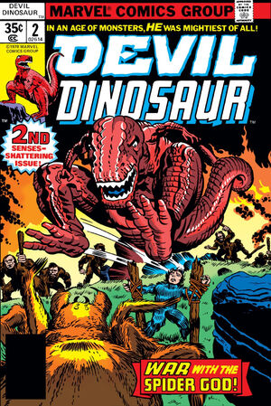 Devil Dinosaur Vol 1 2