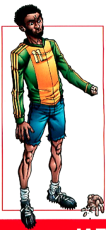 Jack Mead (Earth-616) from X-Men Earth's Mutant Heroes Vol 1 1