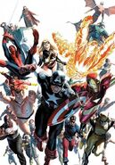 Avengers Invaders Vol 1 12 Textless