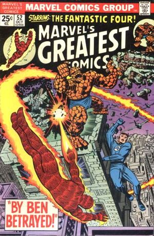 Marvel's Greatest Comics Vol 1 52