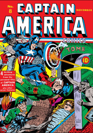 Captain America Comics Vol 1 8