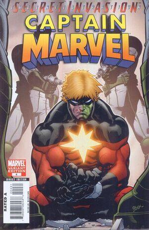 Captain Marvel Vol 6 4 skrull variant